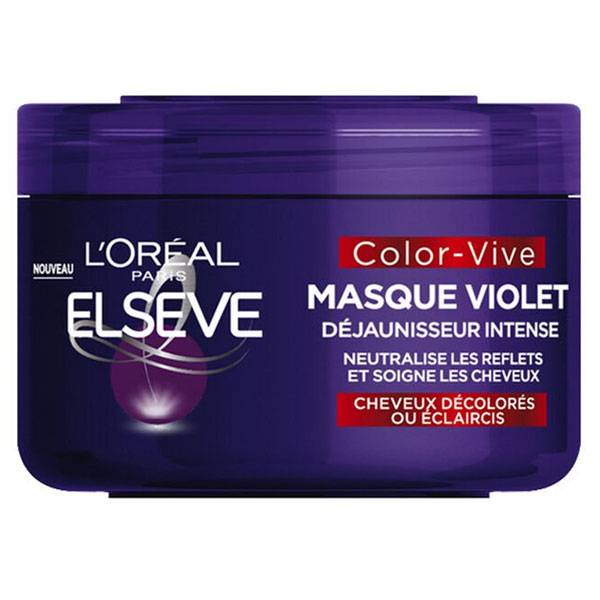 L'Oreal Paris L'Oréal Elsève Color-Vive Masque Violet Déjaunisseur Intense 250ml