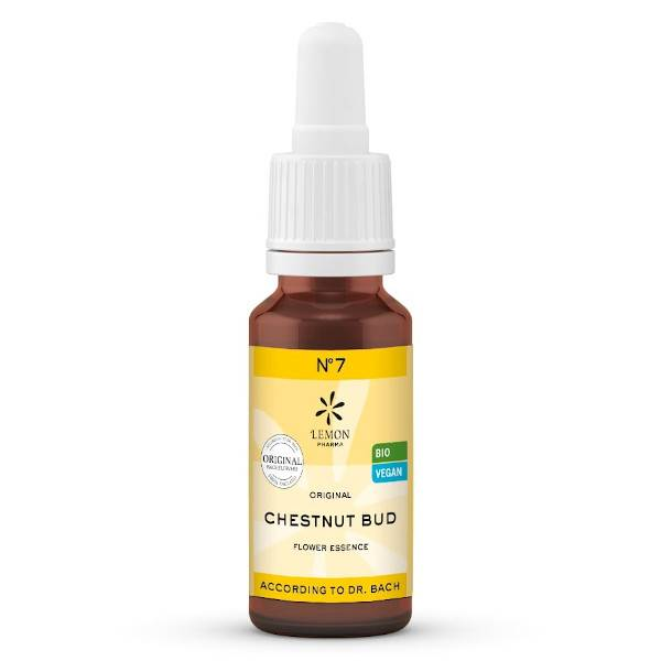 Lemon Pharma Fleurs de Bach N°7 Chestnut Bud Bio 20ml