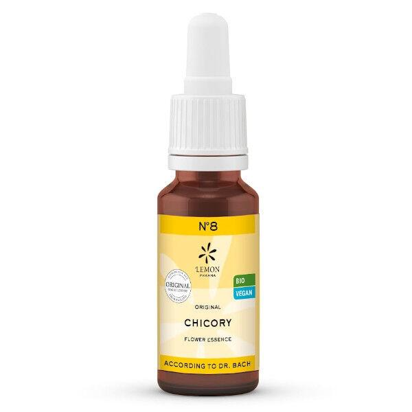 Lemon Pharma Fleurs de Bach N°8 Chicory Bio 20ml