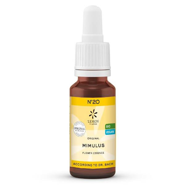 Lemon Pharma Fleurs de Bach N°20 Mimulus Bio 20ml
