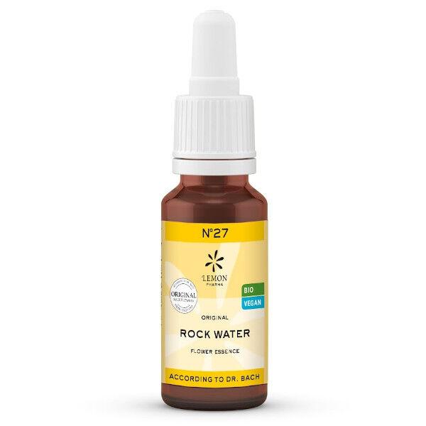 Lemon Pharma Fleurs de Bach N°27 Rock Water Bio 20ml