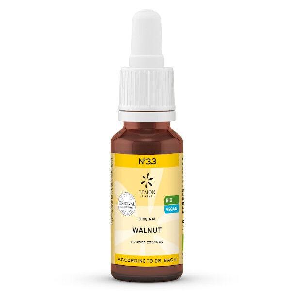 Lemon Pharma Fleurs de Bach N°33 Walnut Bio 20ml