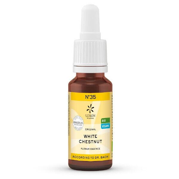 Lemon Pharma Fleurs de Bach N°35 White Chestnut Bio 20ml