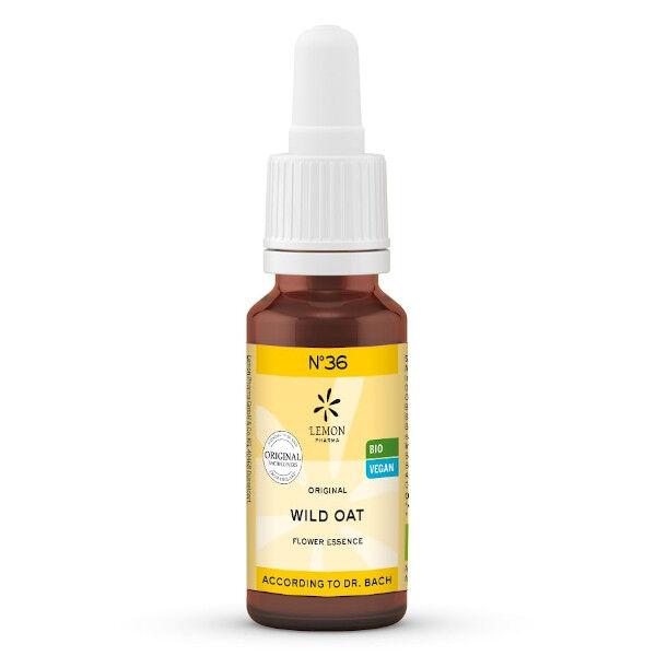 Lemon Pharma Fleurs de Bach N°36 Wild Oat Bio 20ml