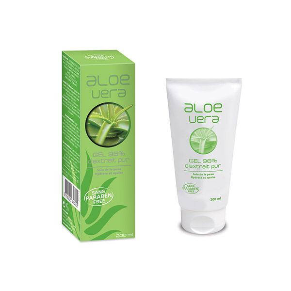 NutriExpert Aloe Vera Gel 96% d'Extrait Pur 200ml