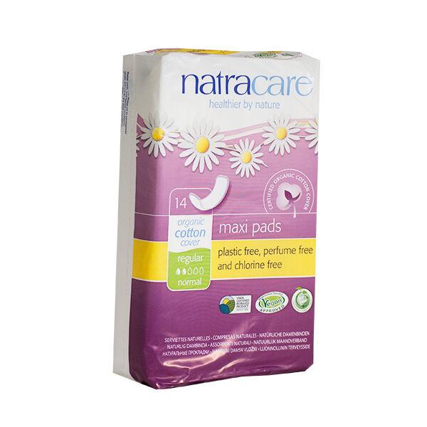 Natracare Serviettes Maxi Normales 14 unités