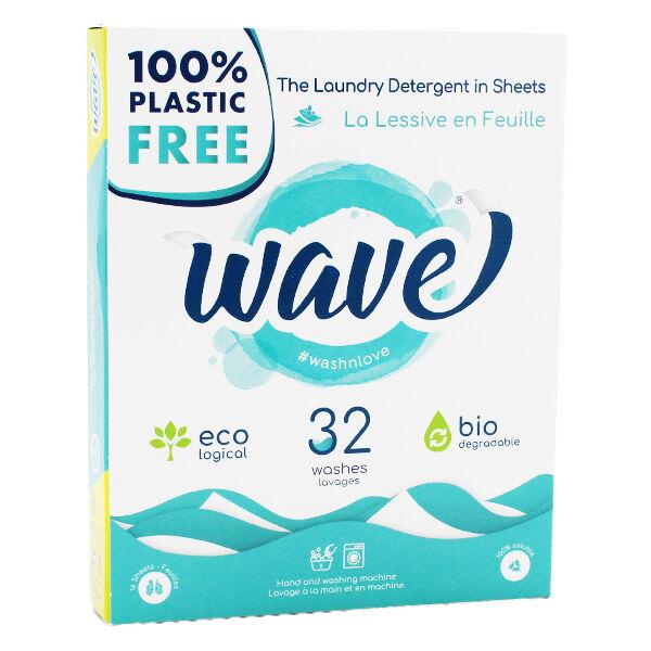 Wave Droguerie La Lessive En Feuille Classique 32 lavages