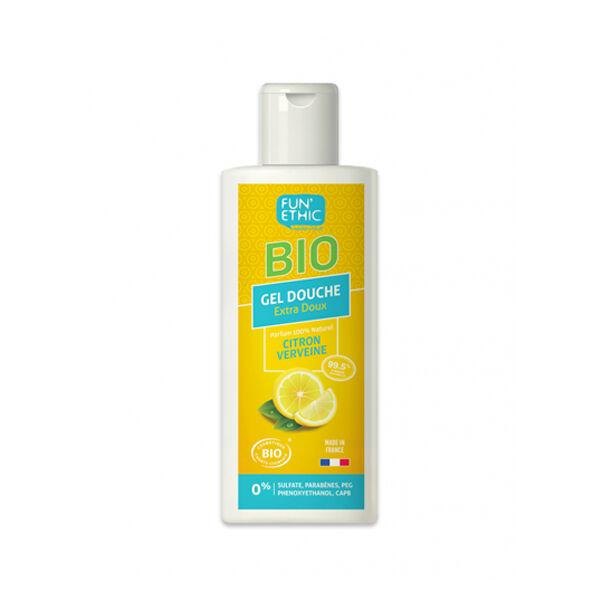 Fun'Ethic Gel Douche Extra-Doux Citron Verveine Bio 250ml