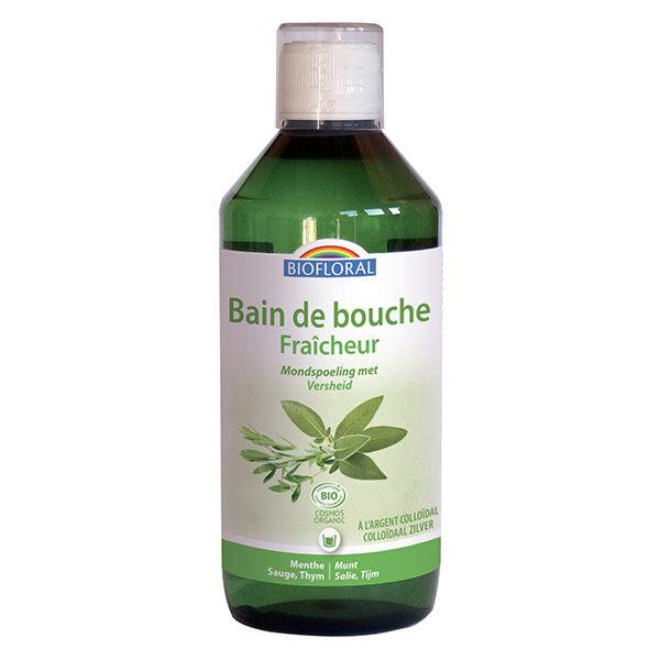 Biofloral Bain de Bouche Fraîcheur à l'Argent Colloïdal 500ml