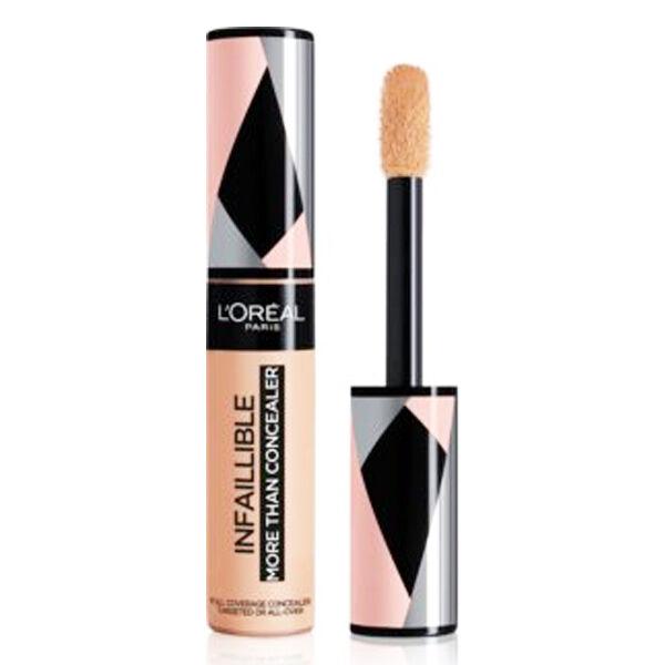 L'Oréal Paris Infaillible More Than Concealer 2 en 1 Correcteur et Fond de teint 327 Cashmine 11ml