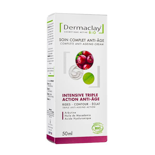 Dermaclay Soin Complet Triple Action Anti-Age 50ml