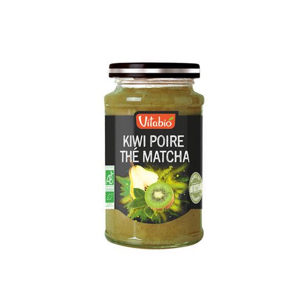 Vitabio Tartinable Bio Kiwi d'Aquitaine Poire Thé Matcha 290g