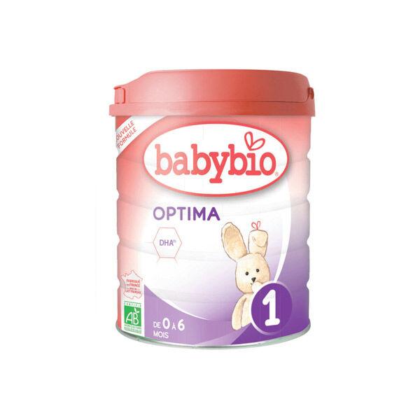 Babybio Optima 1er âge 0-6 mois 800g