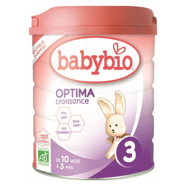 Babybio Optima 3ème Âge Dès 10 Mois 800 g