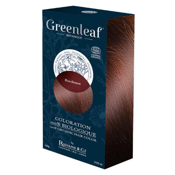 GreenLeaf Botanique Coloration 100 % Végétale Bio Bordeaux