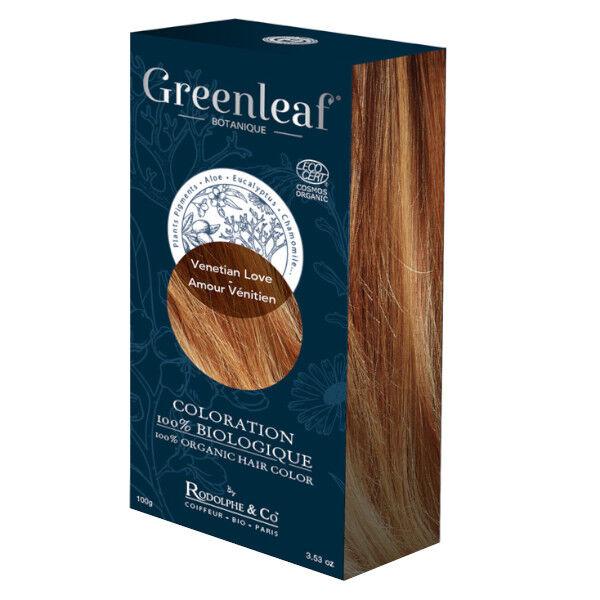 GreenLeaf Botanique Coloration 100 % Végétale Bio Amour Vénitien 100g