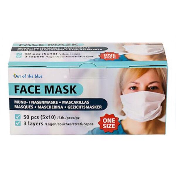 Masque Chirurgical Type II à usage unique 50 unités