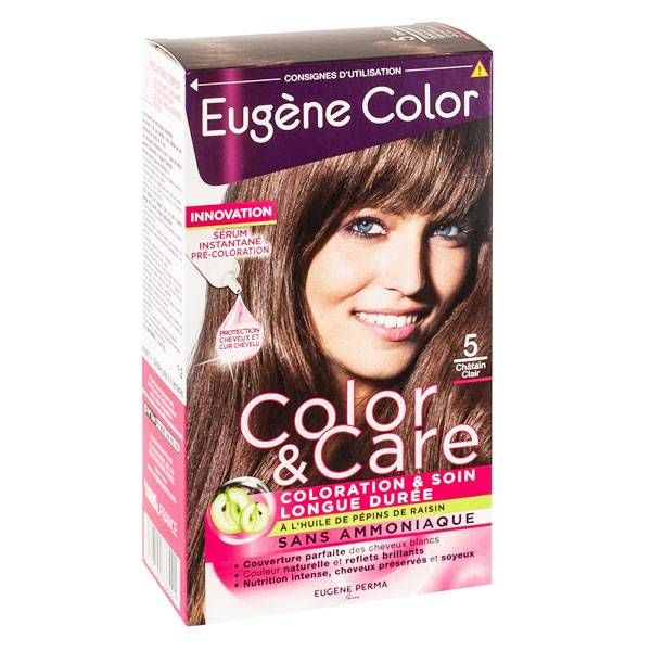 Eugène Color Color & Care n°5 Châtain Clair