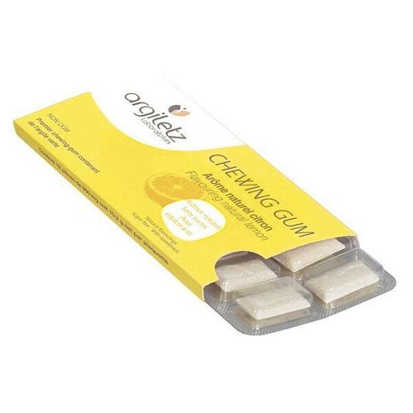 Argiletz Chewing Gum Argil'Gum Citron