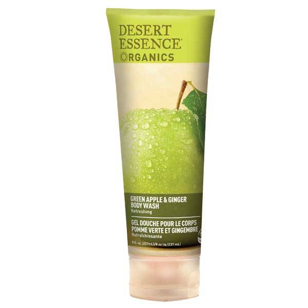 Desert Essence Gel Douche Pomme Verte et Gingembre 237ml