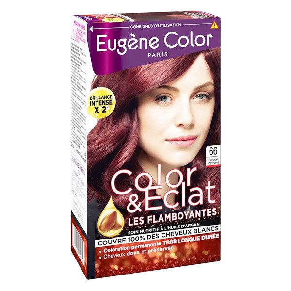 Eugène Color Les Flamboyantes Crème Colorante Permanente n°66 Rouge Profond