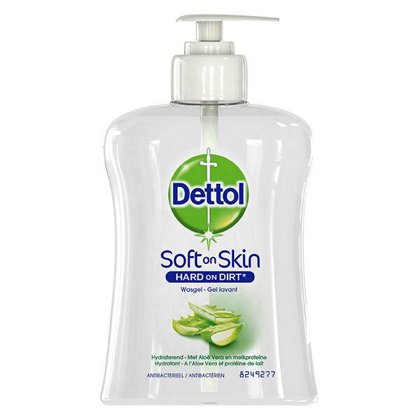 Dettol Soft On Skin Gel Lavant Mains Aloe Vera 250ml
