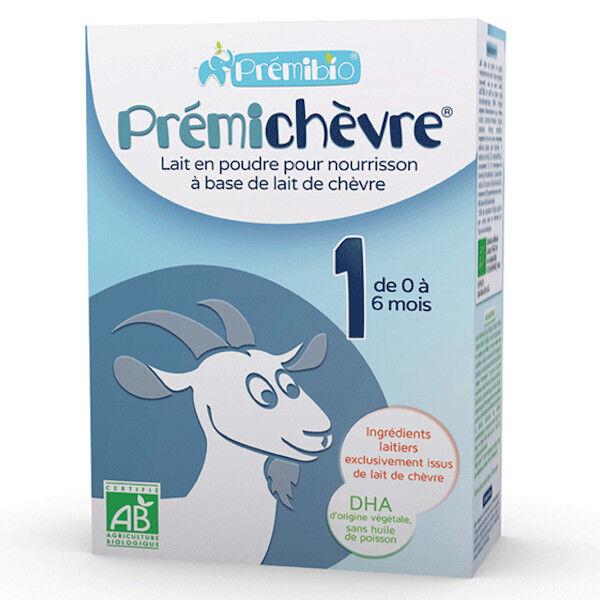 Prémibio Prémichèvre 1 Lait de 0 à 6 mois 600g