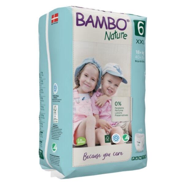 Bambo Nature Culottes d'Apprentissage Taille 6 16+ kg 18 unités