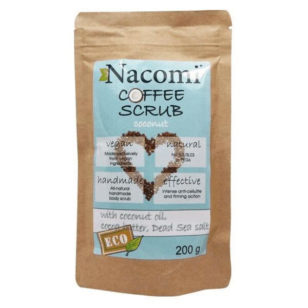 Nacomi Gommage Corps Anti-cellulite Noix de Coco 200g