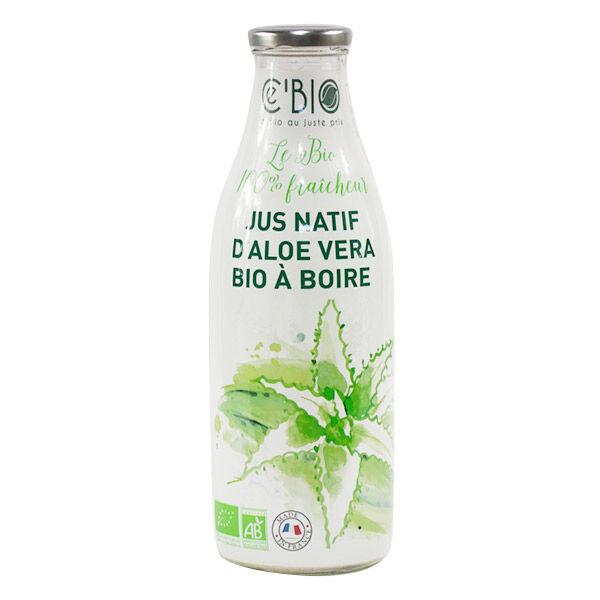 Gravier Ce'bio Jus Natif Aloe Vera à Boire Bio 1L