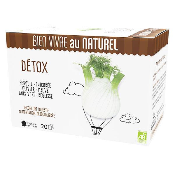 Bien Vivre au Naturel Détox Infusion Bio 20 sachets
