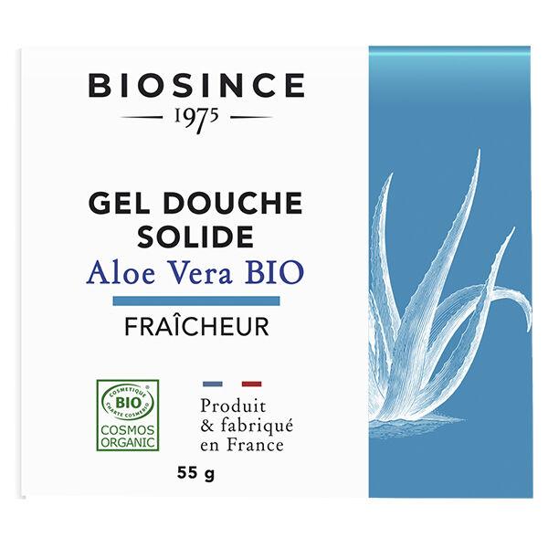 Gravier Biosince 1975 Gel Douche Solide Fraîcheur Aloe Vera Bio 55g