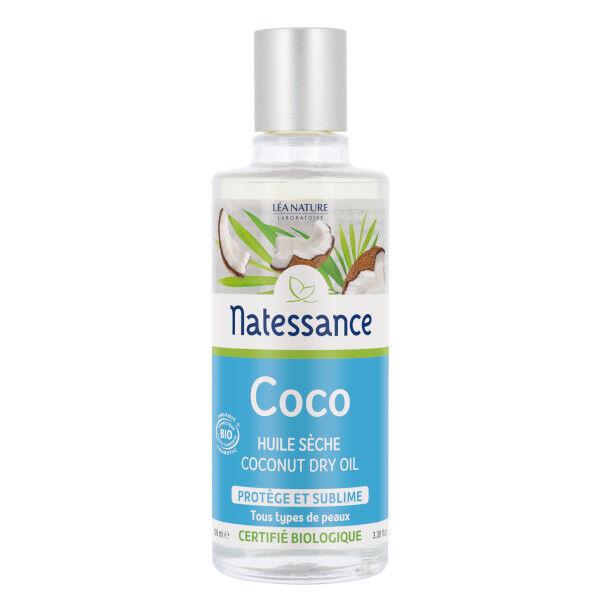 Natessance Huile Sèche Coco Bio 100ml