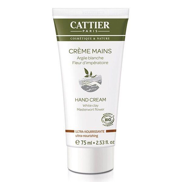 Cattier Crème Mains Ultra-Nourrissante 75ml
