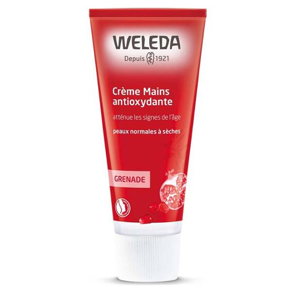 Weleda Grenade Crème Mains Antioxydante Bio 50ml