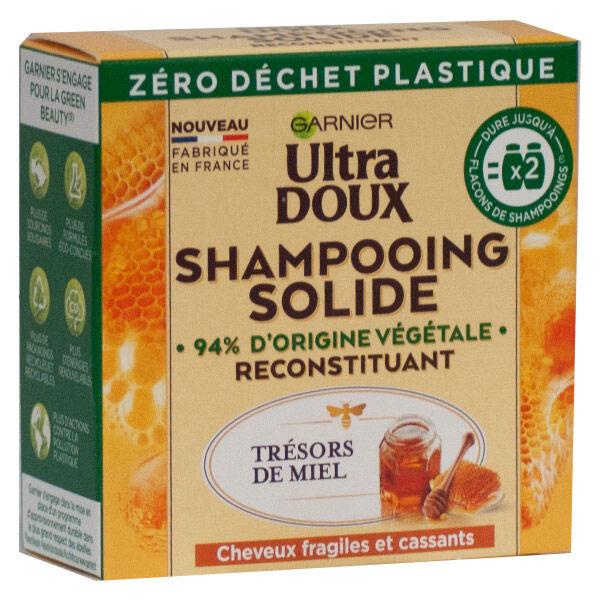 Garnier Ultra Doux Shampoing Solide Reconstituant Miel 60g