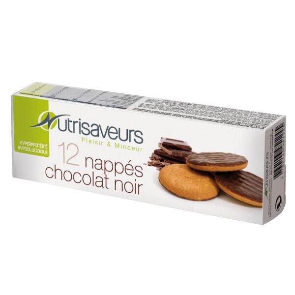 Nutrisaveurs Biscuits Nappés Chocolat 12 unités