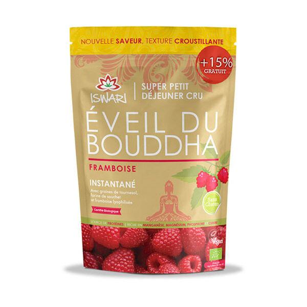 Iswari Eveil du Bouddha Framboise Bio 360g + 15 % Offert