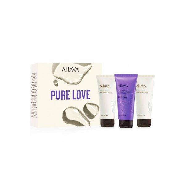 AHAVA Dead Sea Water Coffret Pure Love