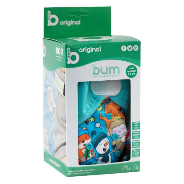 Bumdiapers Couche Lavable + 1 Insert Collector