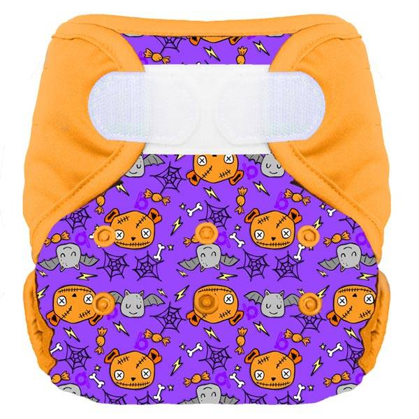 Bumdiapers Couche Lavable + 1 Insert Halloween 2020 0-3ans+