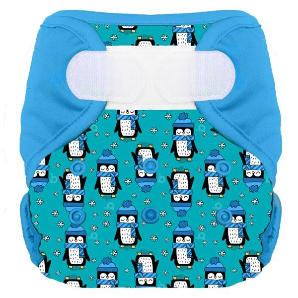 Bumdiapers Couche Lavable + 1 Insert Arnold Le Pingouin 0-3ans+