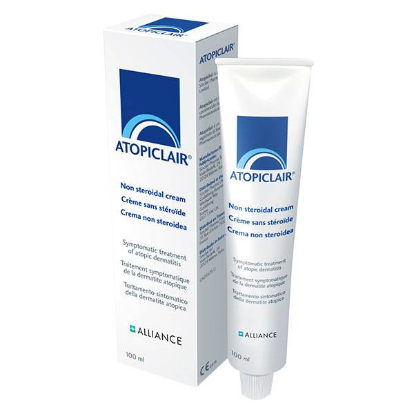 Alliance Pharma France Alliance Pharma Atopiclair ® Crème Apaisante Sans Stéroïde 100ml