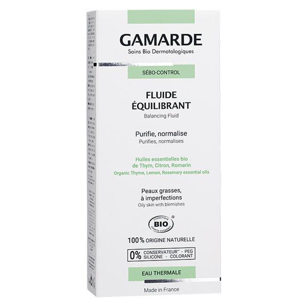 Gamarde Sébo-Control Fluide Equilibrant Bio 40g