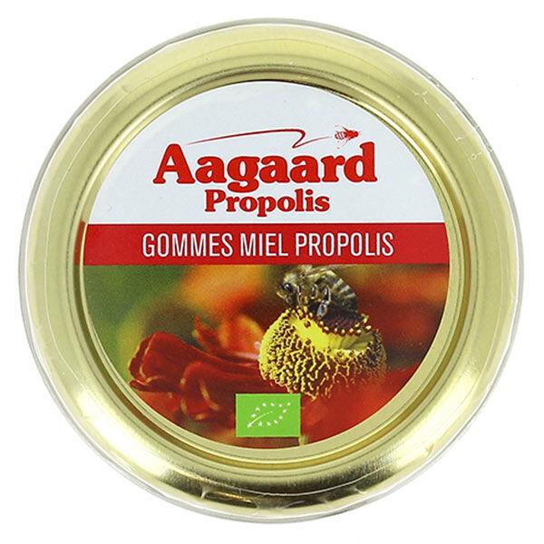 Aagaard Propolis Gommes Miel Propolis Bio 45g