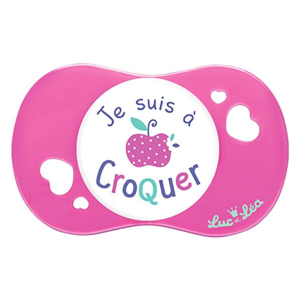 Luc et Léa Sucette Silicone +18m A Croquer