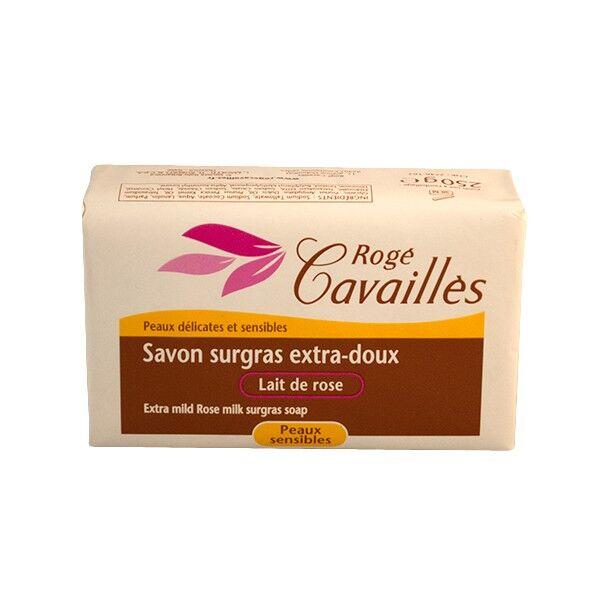 Rogé Cavaillès Savon surgras Extra Doux Lait de Rose 250g