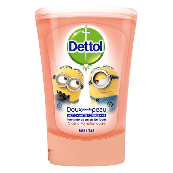 Dettol No-Touch Recharge Gel Lavant Mains Classic Pamplemousse 250ml