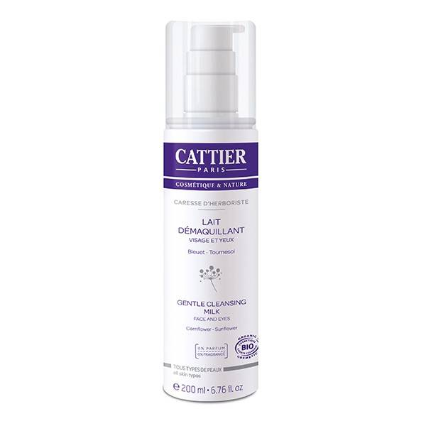 Cattier Lait Démaquillant Caresse d'Herboriste 200ml