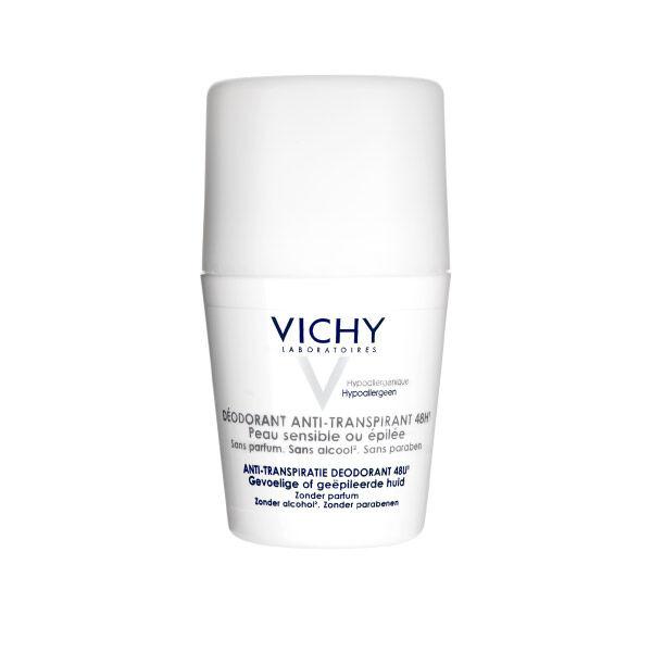 Vichy Déodorant Anti-Transpirant Peau Sensibles Roll On 50ml